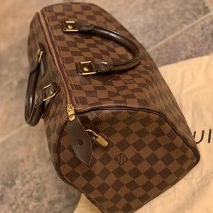 Authentic Louis Vuitton Damier Ebene Speedy 30✨